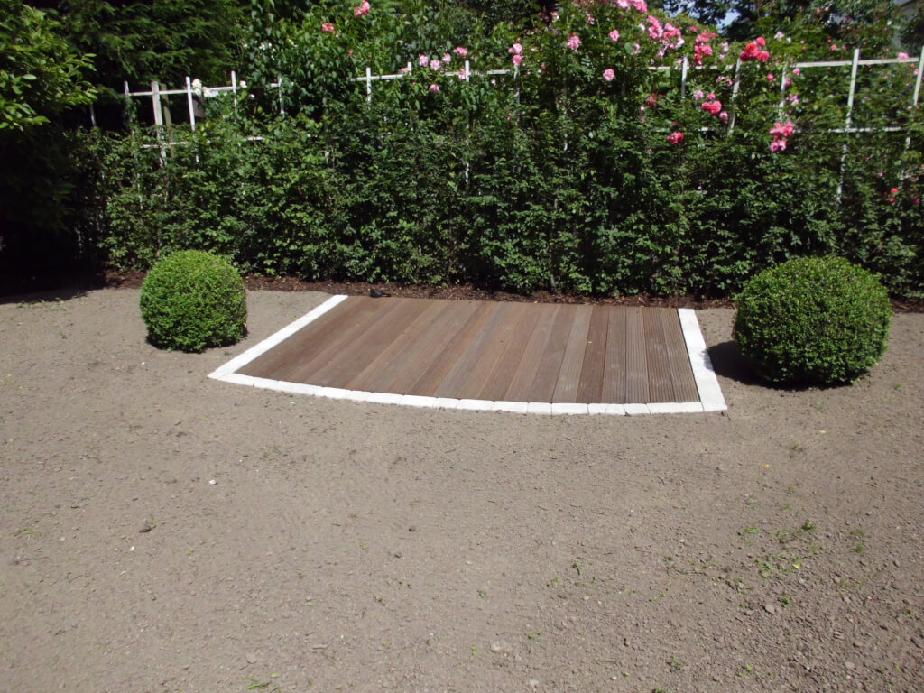 Neugestaltung aussenanlage niedenhoff gartenbau - Gartenbau kiel ...